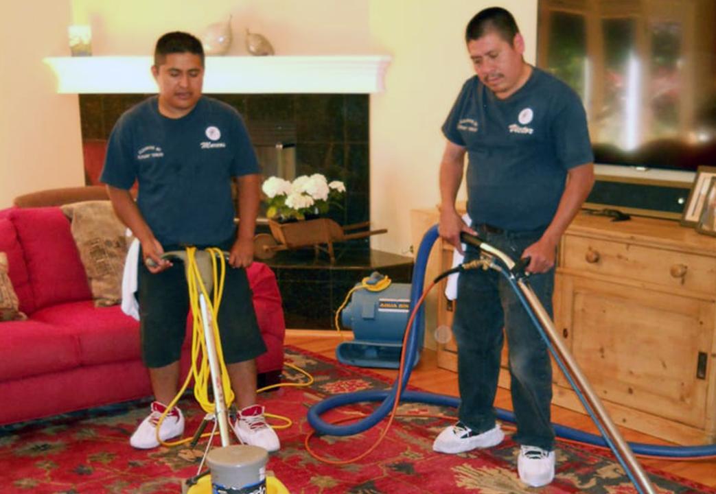 Area Rug Cleaning Team at Elegant Thread Carpet Care